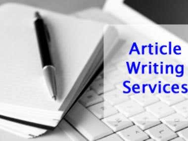 Article writingService