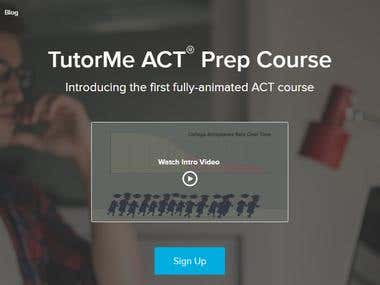 TutorMe Website