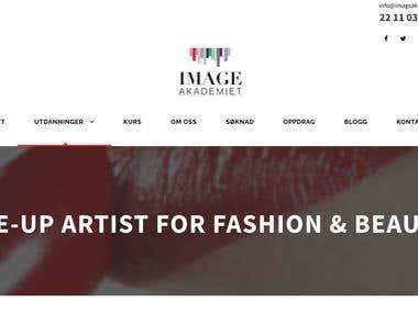 Imageakademiet website