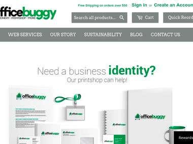 Shopify store to sell products online