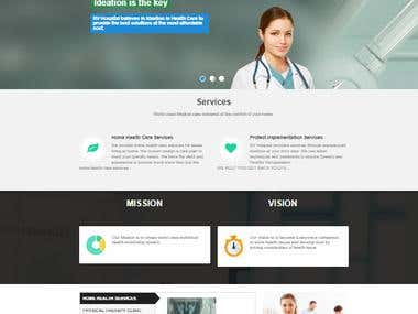 Health-Care website using MEAN stack