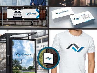 Finance company branding