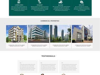 Real State Website Design and Development