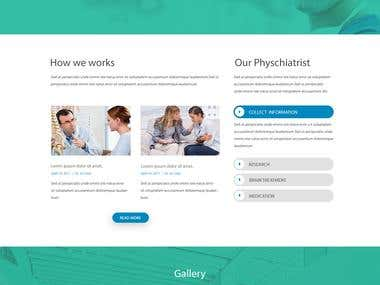 Psychotheraphy website design