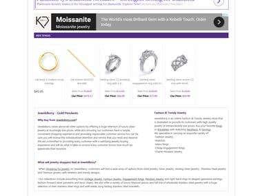 Jewellery Online Store