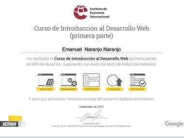 Desarrollo Web.