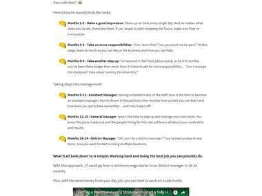 Tristanbains - Wordpress theme development