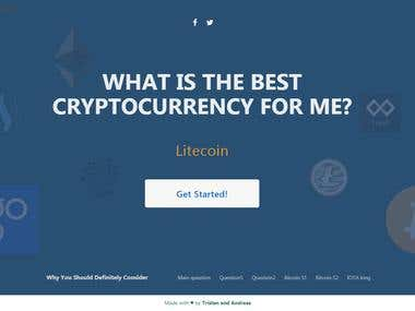 Bestcryptocurrencyfor - Wordpress theme development