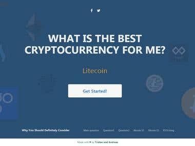 Bestcryptocurrencyfor - Wordpress theme development
