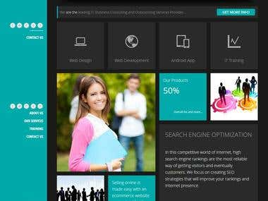 IT Compani Website