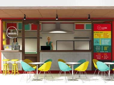 Food container design