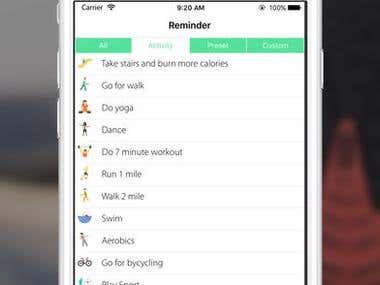 Dietrition App