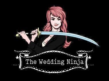 The Wedding Ninja / Illustration - Logo