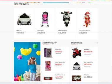 ecommercye website