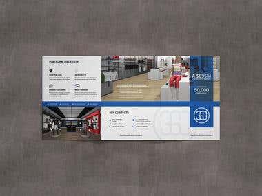 A4 Panel Tri-Fold Brochure