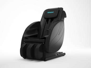 Product Rendering (Massage chair)