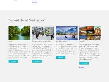 Tourism Website - www.deshpandeholidays.com