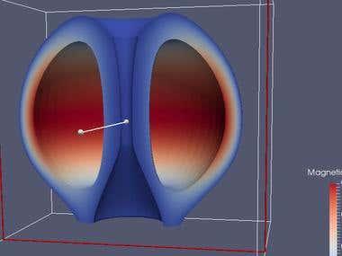 Plasma physics complex Mesh/Simulation