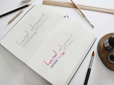Hand-drawn and Signature Logo Designs