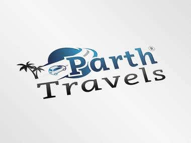 Parth Travel Logo
