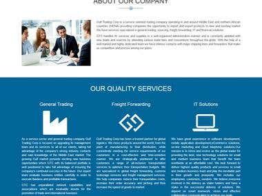 Gulf Trading corp website