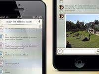 iOS 7 mobile application for the social dating