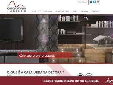 Website - Casa Urbana Carioca Projetos