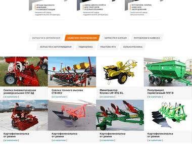 Adaptive corporate site