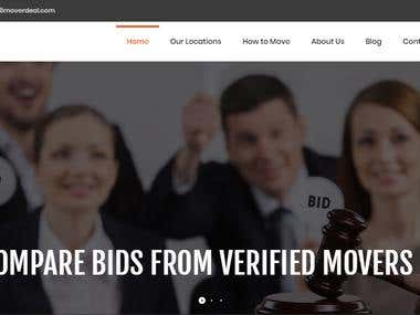 Packers & movers bidding portal