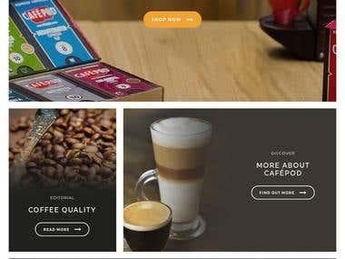 Cafepod Site