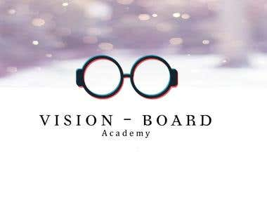 Logo work for Vision Board Academy
