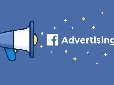 Configuration, Management of Facebook Marketing campaign