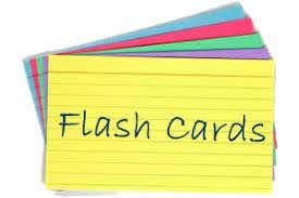Flash cards system React web app