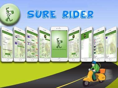 Delivery App as Base of requirment