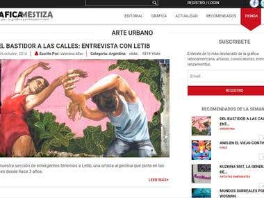 "Journalism Writing in ""Gráfica Mestiza"""