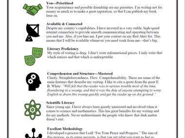 Youssef's Resume: Professional & Creative Writer