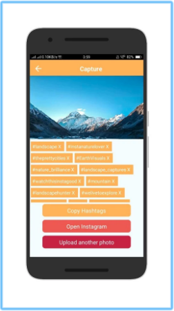 Capture - Hashtag Recommendations for Instagram