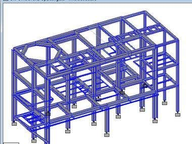 Structural Analysis using STAAD PRO