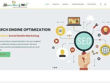 Development of SEO website