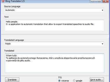 Speech Translator