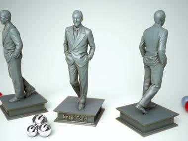 Ford 3D Print model