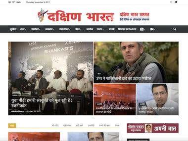 Development of News Website