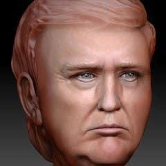 Trump Head Model