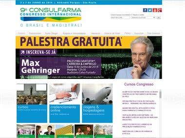 Congresso Consulfarma WEBSITE