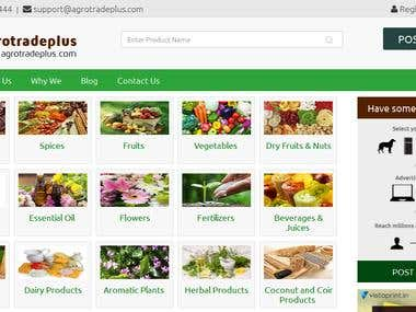 Classified site - Agrotradeplus
