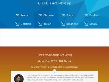 ETDFL Germany Website