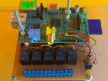 Simple IoT over Raspberry