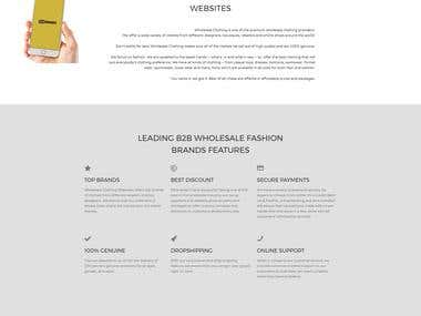 Landing Page Design & Development