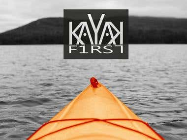 Kayak First - logo design