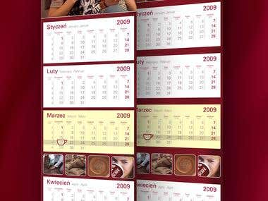 Nescafe Calendar